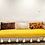 Thumbnail: Yellow Textured Cotton Throw/Couch Couch Cover