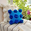 Thumbnail: Teal Pom Pom Embellished Cushion Cover