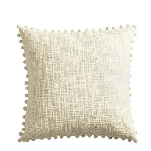 Basket weave Neutral Cushion Cover