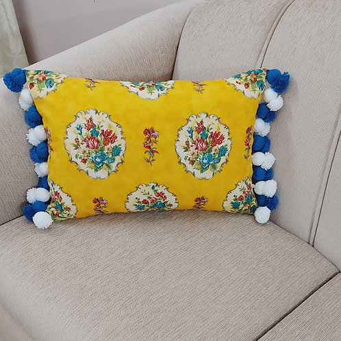 Spring Printed Cushion Cover