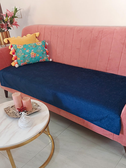 Luxe Solid Couch Cover