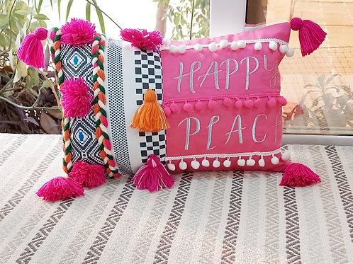 The Shadi Saga Cushion Cover