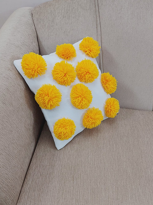 Marigold Pops Cushion Cover