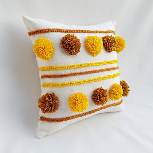 Sunflower Garden Cushion Cover