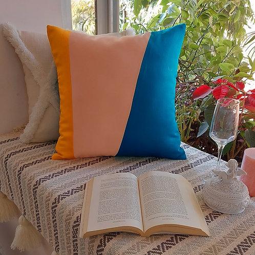 Colourblock Cushion Cover