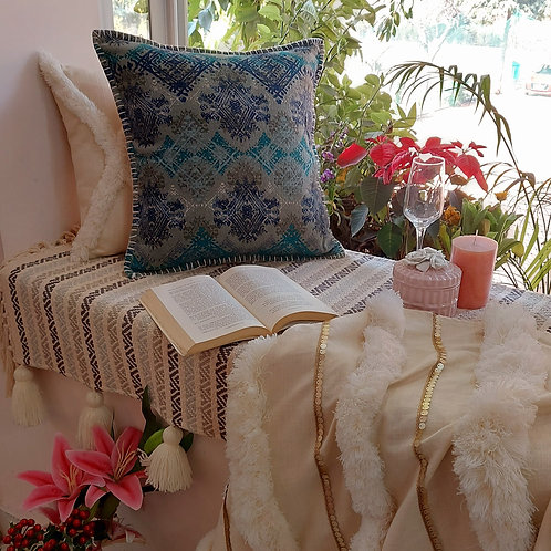 Vintage Textured Cushion Cover