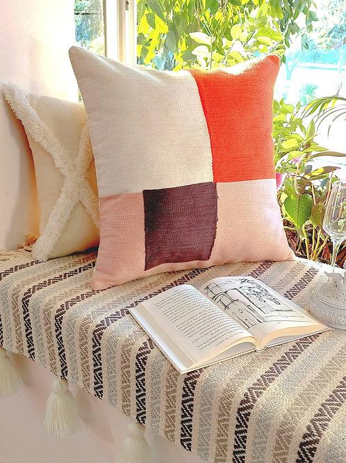 Mondrian Design Cushion Cover