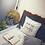 Thumbnail: Grey Fine Thread Tassel Cushion Cover