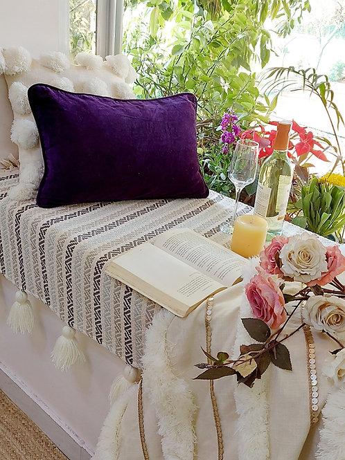 Deep Purple Solid Cushion Covers