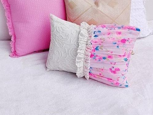 Ballerina Half Design Lumbar Cushion Cover-12x18 in