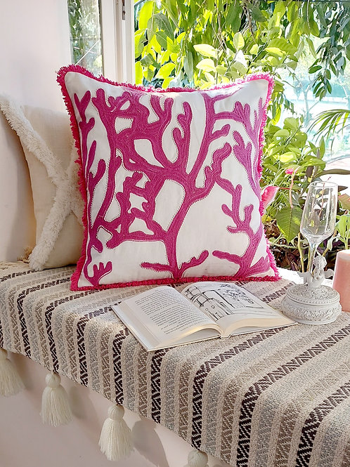 Coral Formation Cushion Cover