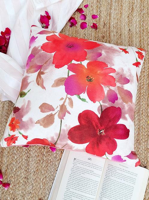 Autumn Floral Printed Cushion Cover