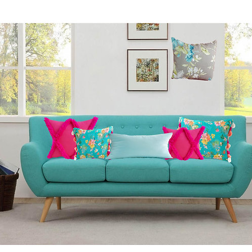 Tropical Parade Cushion Cover Combo- Set of 5
