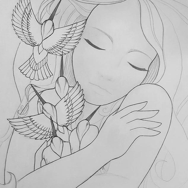 Hummingbirds in the Heart