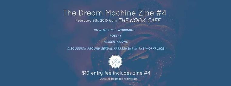 The Dream Machine Zine #4