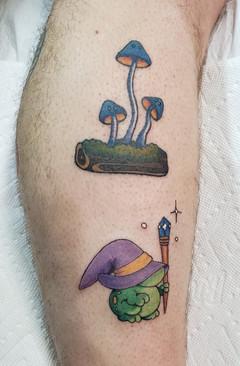 Wizard Creature & Mushroom Family