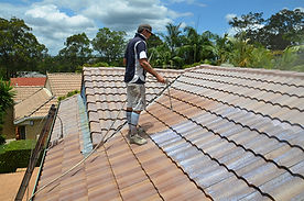 Roof Restoration Brisbane Spray Sealer