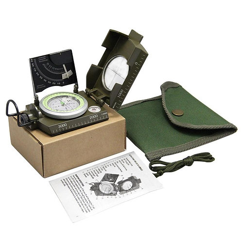 Professional Aluminum Compass With Sighting Sine