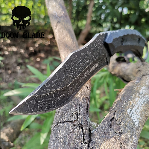 Fixed Blade Hunting Camping Survival Knife