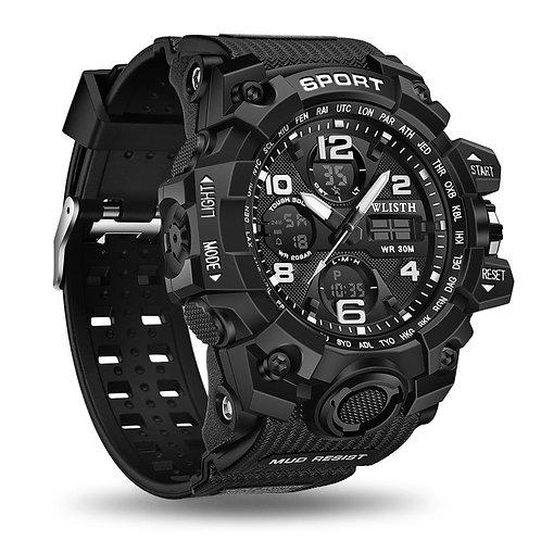 Men's Digital Sport Chronograph Military Watch