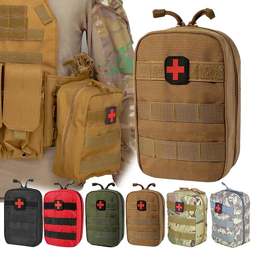 Tactical Survival First Aid Kit Bag