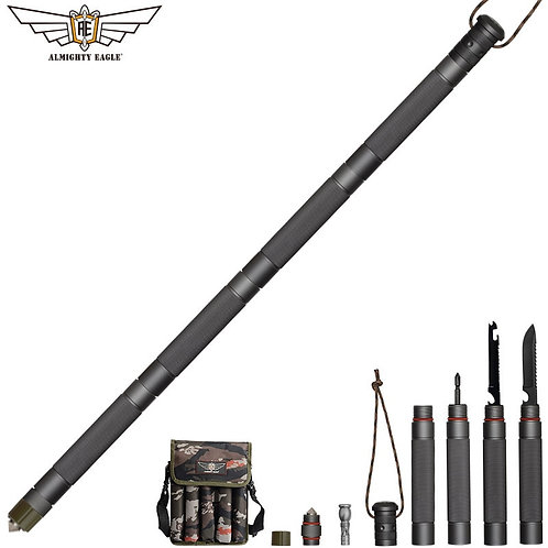ALMIGHTY EAGLE Tactical Multifunction Hiking Stick