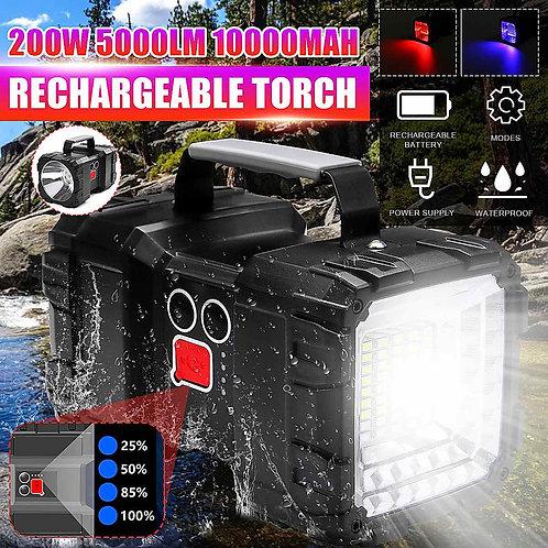 5000LM Super Bright Powerful USB LED Flashlight