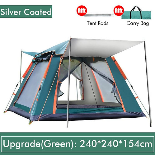 3-4 / 4-6 Person Automatic Double Layer Tent
