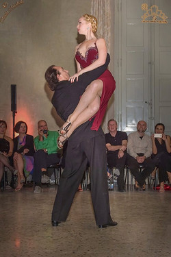 Esibizione al Lucca Tango Festival