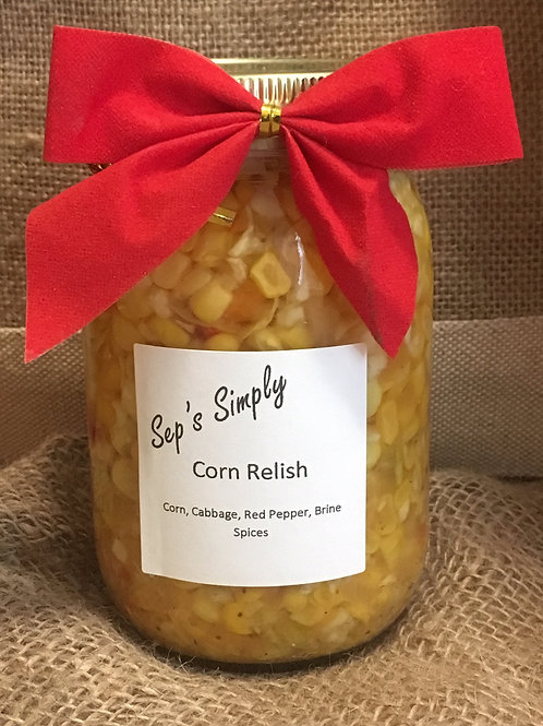 Sep's Corn Relish