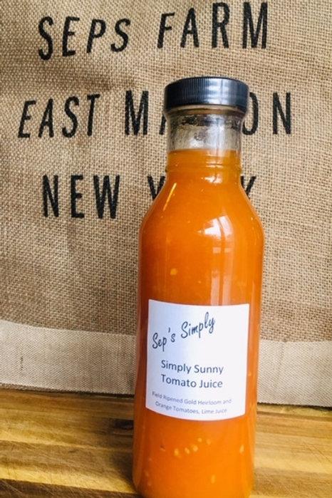 Sep's Simply Sunny Tomato Juice