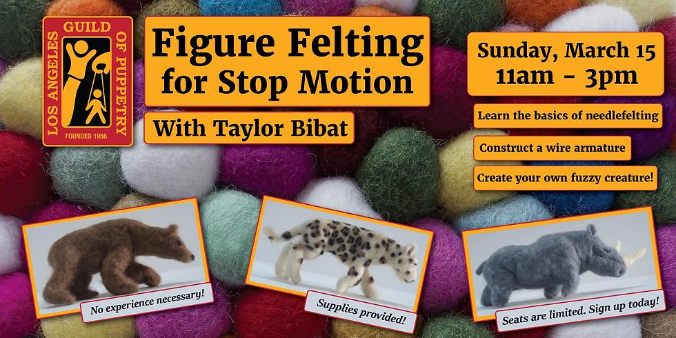 Figure Felting for Stop Motion
