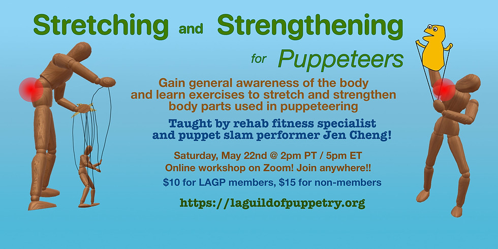 Stretching and Strengthening for Puppeteers