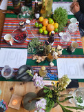 A fire cider workshop with Maria from Healing Weeds