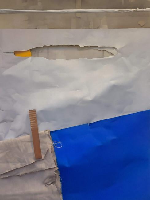 2020 Pastel on Paper 88 cm. x 65 cm.