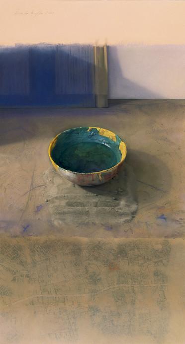 2000 Pastel on Paper   108 cm. x 58 cm.