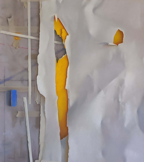 2020 Pastel on Paper 58 cm. x 52 cm.