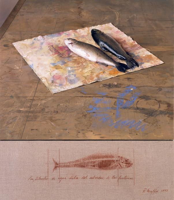 1995  Oil on Canvas   75 cm. x 65 cm.