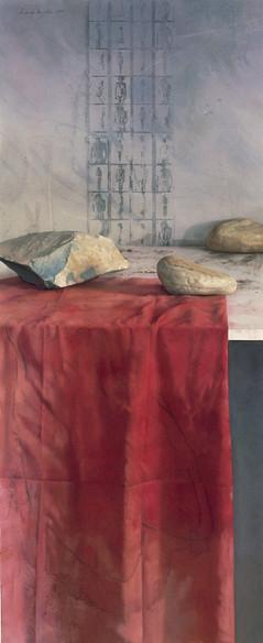 1999 Pastel on Paper 140cm. x 52 cm.