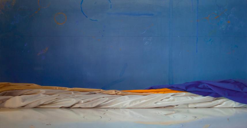 2014 Oil on Canvas  75 cm. x 137,5 cm.