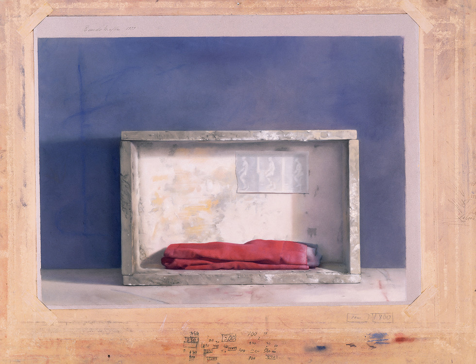 1999 Pastel on Paper  90cm. x 117 cm.