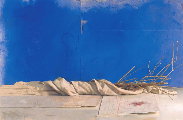 2000 Oil on Canvas 82 cm. x 125 cm.