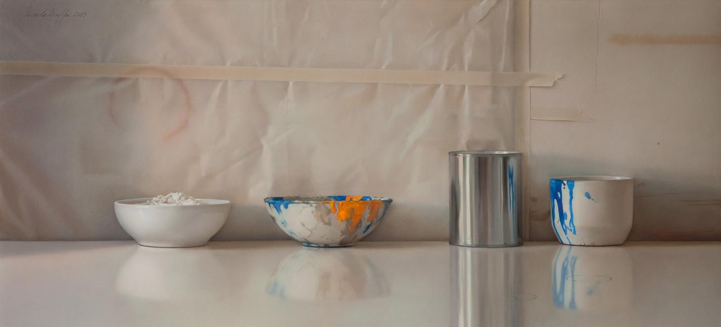 2015 Pastel on Paper  50 cm. x 110 cm.