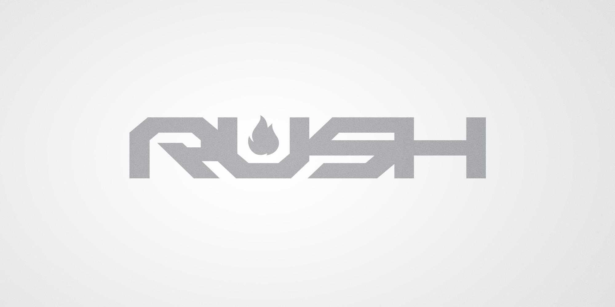 RUSH  / LOGOTYPE / FORDESIGN