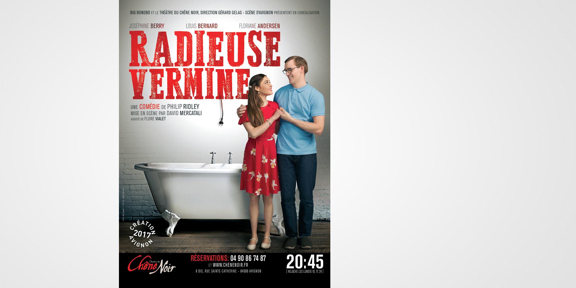 RADIEUSE VERMINE / FORDESIGN