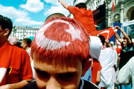 Turkey beats Senegal. 22 June 2002 Parvis de l'Hôtel de Ville, Paris 4th