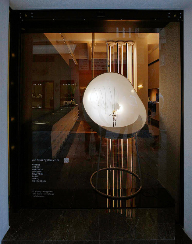 Yannis Sergakis Adornments. Flagship store designed by Aris Zambicos - Gr405 Architects.