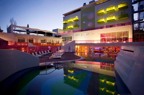 Semiramis Hotel. Athens. Designed by Karim Rashid.