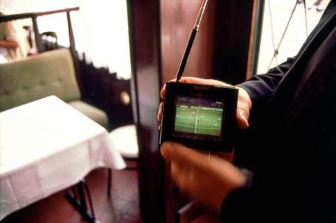 Italy (vs Ecuador). 3 June 2002. Italian restaurant: Chez Vincent, Paris 19th