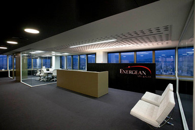 Energean office space. Athens. Designed by Aris Zambicos - Gr405 Architects.